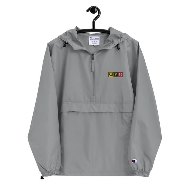 AV8R Embroidered Champion Packable Jacket