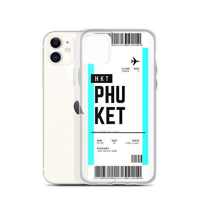 Phuket Boarding Pass iPhone Case