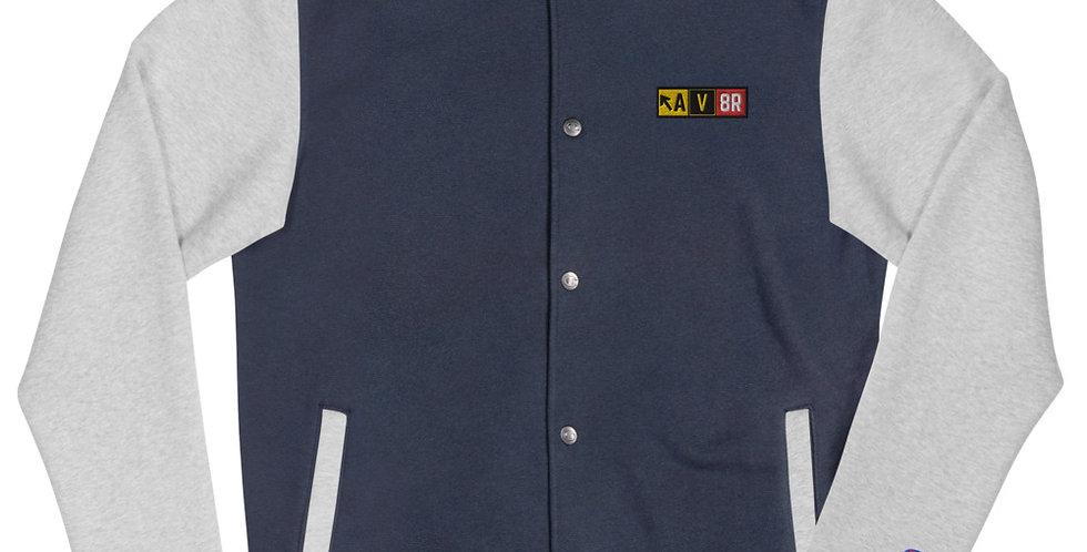 AV8R Embroidered Champion Bomber Jacket