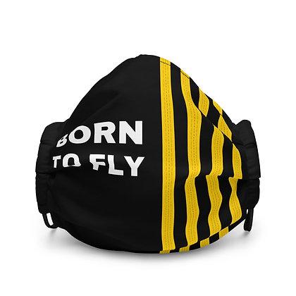 BORN TO FLY Epaulettes Face mask