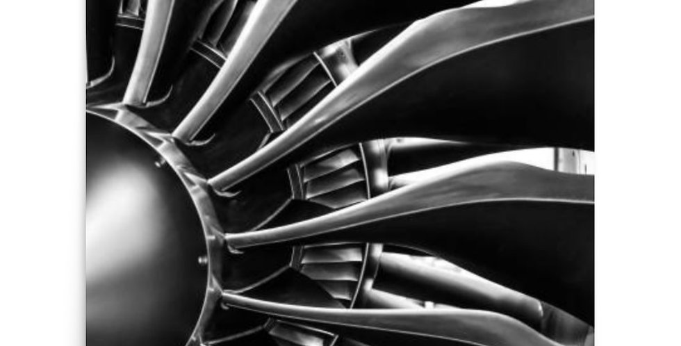 Aircraft Engine Poster #2