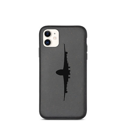 Biodegradable phone case with logo