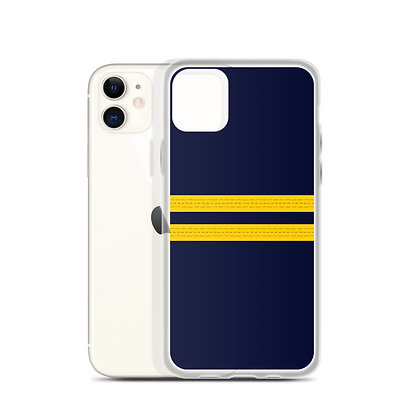 Pilot Epaulettes (First Officer) iPhone Case