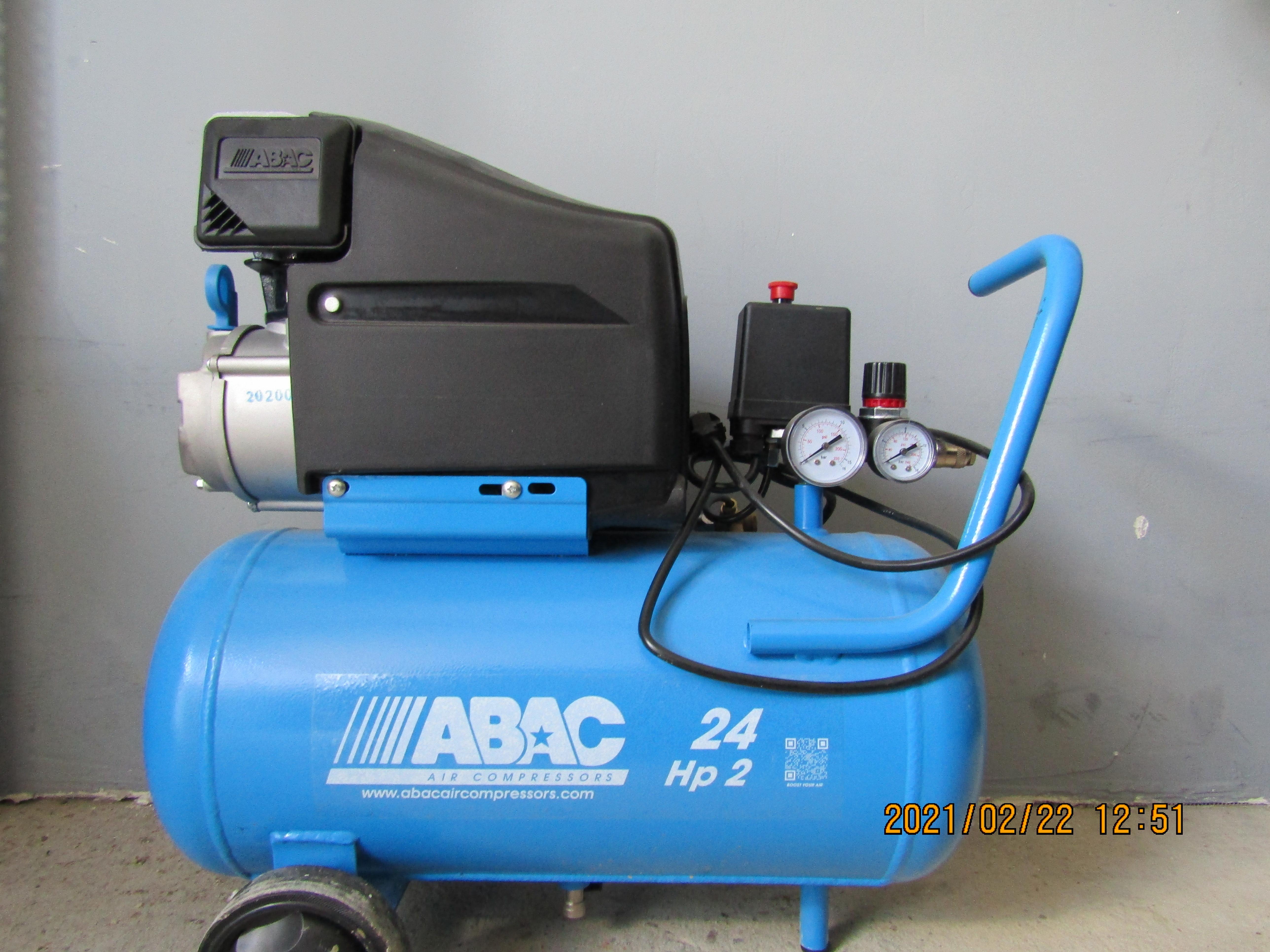 ABAC 24 HP2 kompresszor