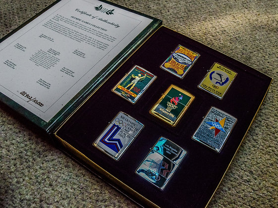 Limited Edition Atlanta 1996 Olympic Games Zippo