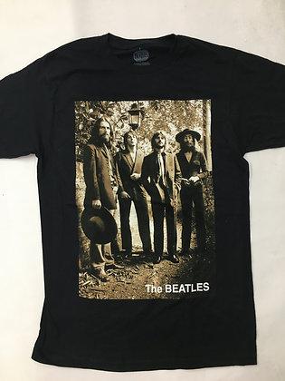 Beatles Sepia 1969 Photo