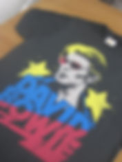 band tshirt, band shirt, david bowie, david bowie tshirt