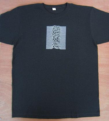 """Joy Division"""" Unknown Pleasures T-Shirt"""