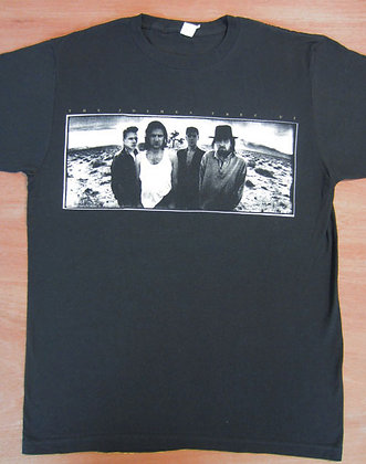 "U2"" Joshua Tree Europe 1987 Tour T-shirt"