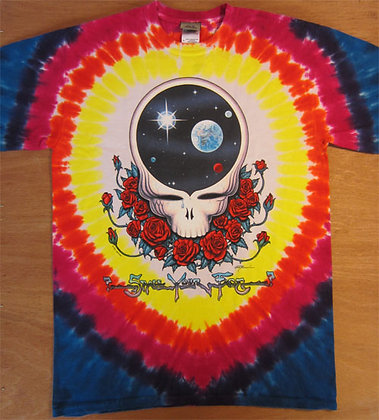 "Grateful Dead"" Space Your Face T-Shirt"