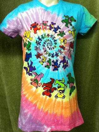 Grateful Dead Tie dye bears T-Shirt