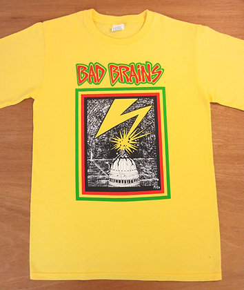 Bad Brains- Capitol Building T-Shirt- Yellow