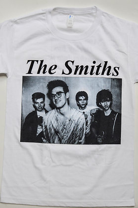 The Smiths - Portrait with backprint