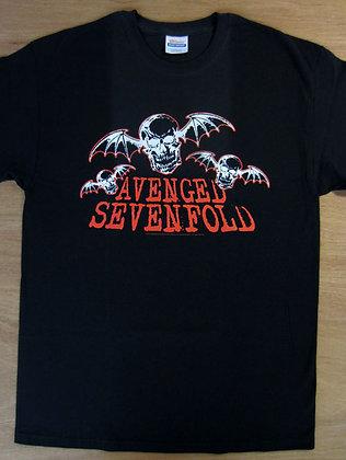 Avenged Sevenfold -Flying Skulls T-Shirt