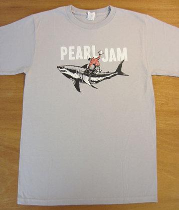 "Pearl Jam"" Shark Cowboy T-Shirt"