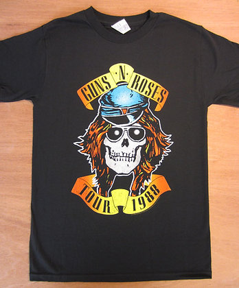 "Guns N Roses"" Tour 1988 T-shirt"