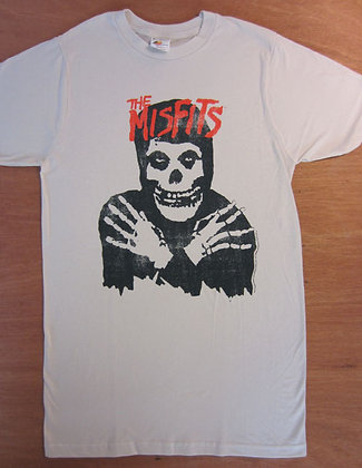 "Misfits"" Hooded Crossed Arms Skeleton T-Shirt"