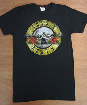 "Guns N Roses"" Two Guns T-Shirt"
