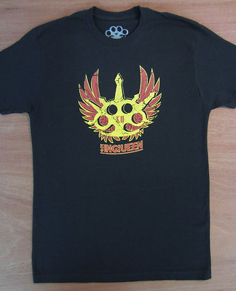"King Queen"" Wings Art T-Shirt"