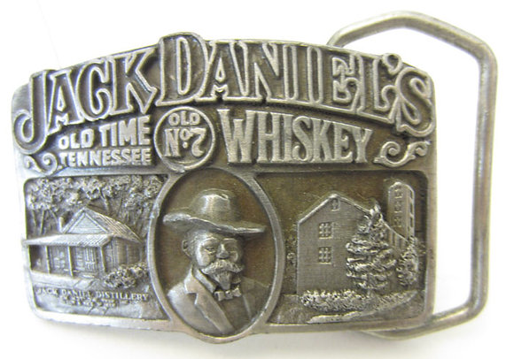 Jack Daniel's Old Time Tennessee Whiskey Buckle