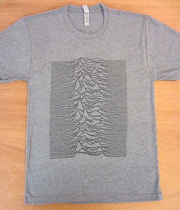 "Joy Division"" Lines Art T-Shirt"