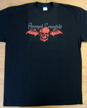 Avenged Sevenfold Flying Skull T-Shirt