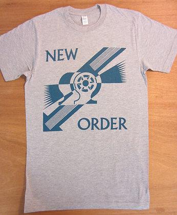 """New Order"""" Blue Art T-Shirt"""