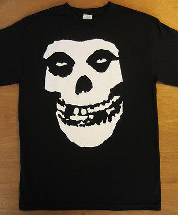 "Misfits"" Large Skull Front Logo T-Shirt"