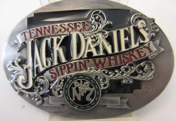 Jack Daniel's 'Sippin Whiskey' Enamel Buckle