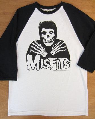 "Misfits"" Grim Reaper Baseball T-Shirt"