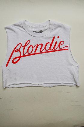 Blondie - Logo Crop Top