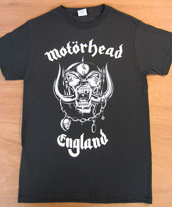 "Motorhead"" England T-Shirt- Black"