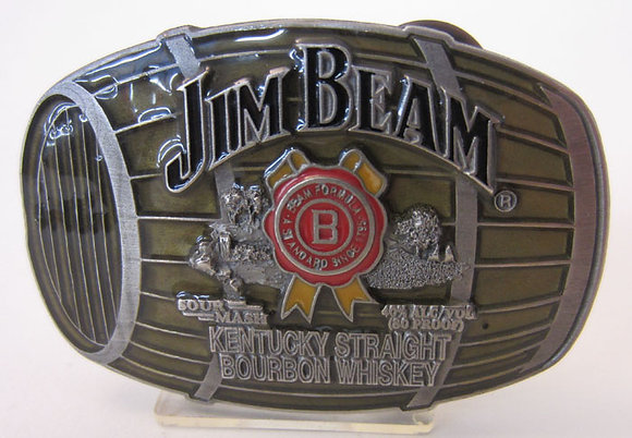 Jim Beam Kentucky Straight Bourbon Whiskey Barrel