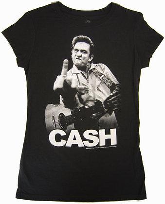 Johnny Cash- Flipping the Bird Tshirt