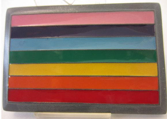Rainbow Equality Buckle