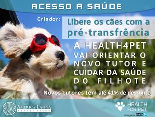 Animais saudáveis vivem mais