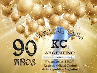 KCA - Kennel Clube Argentino reconhece o ALKC.