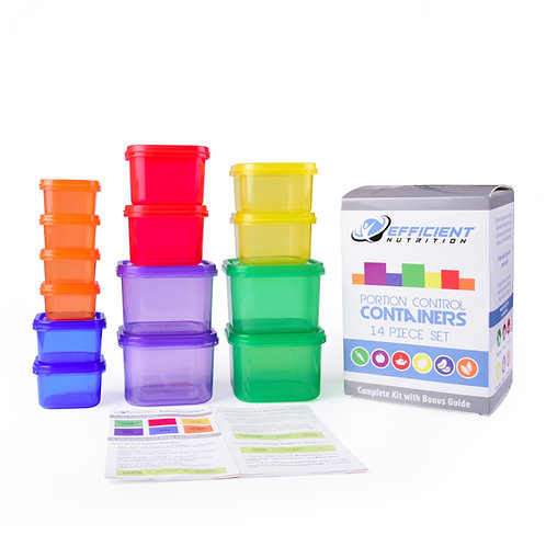 14pc Portion Control Set with Guide