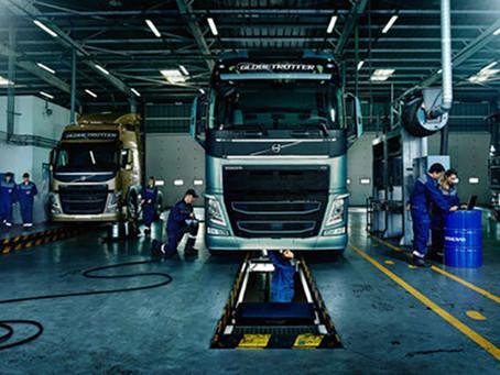 Скидка выходного дня -10% на все работы по ремонту и ТО тягачей Volvo и полуприцепов.