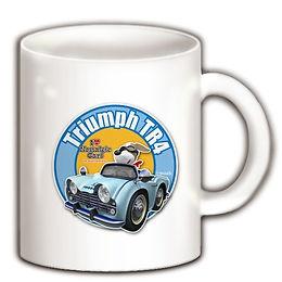 デフォルメカーのTR4ワンコくんマグカップ