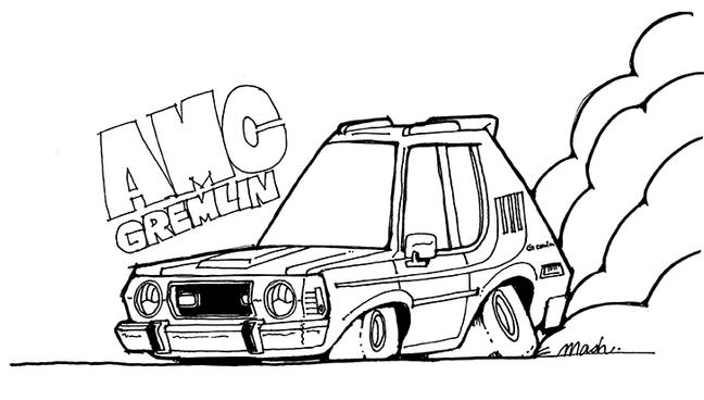 AMC Gremlin デフォルメカー
