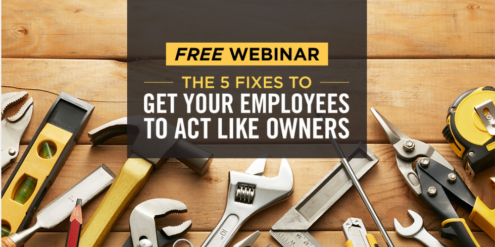 Get Employees to Act like Owners