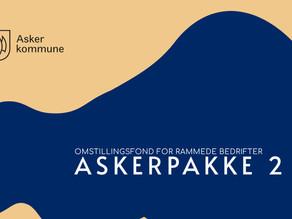 1 million kroner i omstillingsfond for rammede bedrifter i Asker