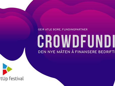 Bli med på webinar: Crowdfunding - Den nye måten å finansiere bedrifter