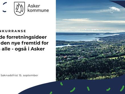 Asker kommune lanserer konkurranse om gode forretningsideer
