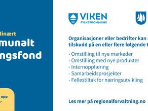 Ekstraordinært kommunalt næringsfond i Asker