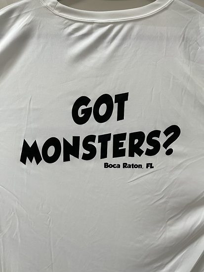 Long Sleeve Performance Got Monsters Shirt
