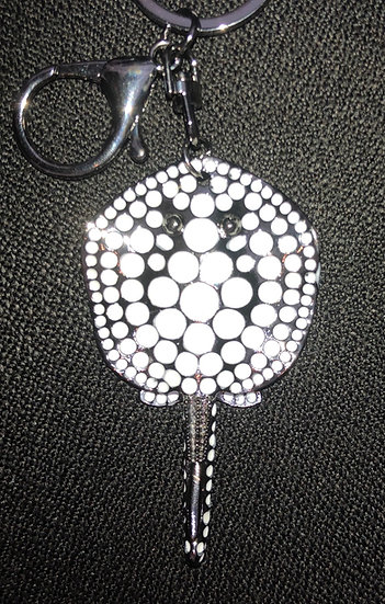 Black Diamond Stingray Keychain