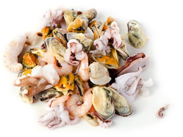 1 Lb seafood Mix