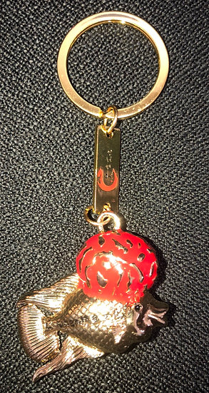 Flowerhorn Keychain